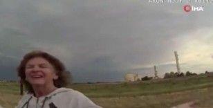ABD polisi, orantısız güç kullandığı demans hastası kadına yaptıklarını gülerek izledi