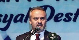 Bursa Büyükşehir Belediye Başkanı Aktaş, 50 milyon liralık destek paketini açıkladı