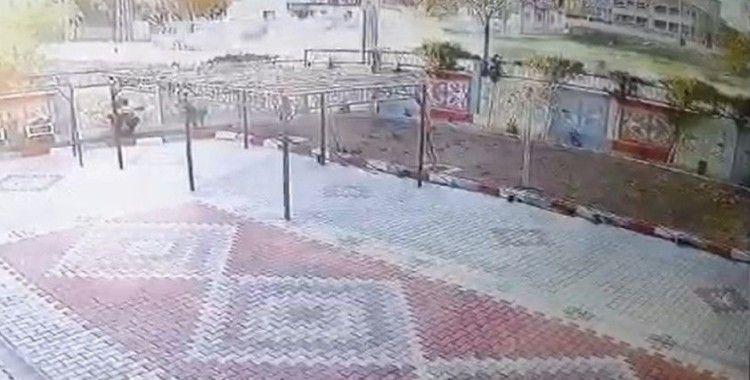 Konya'da baba ve 2 çocuğunun öldüğü kaza kamerada