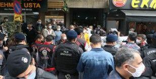 HDP önünde evlat nöbeti tutan babadan HDP yöneticilerine tepki