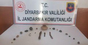 Diyarbakır'da tarihi eser operasyonu: 3 gözaltı