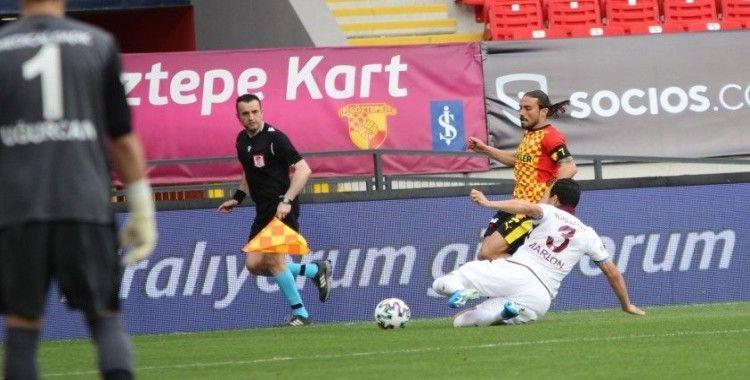 Süper Lig: Göztepe: 1 - Trabzonspor: 1 (Maç sonucu)
