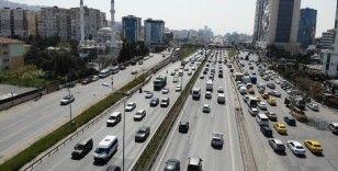 Tam kapanma öncesi İstanbul'dan Anadolu'ya göç havadan görüntülendi