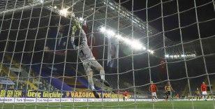 Süper Lig: MKE Ankaragücü: 0 - Gaziantep FK: 0 (İlk yarı)