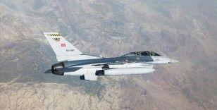 Irak'ın kuzeyinde terör örgütü PKK'ya ait hedefler vuruldu