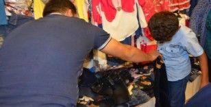 Silvan'da 'Bir Yetim Çocuğu da Sen Giydir' kampanyası sürüyor
