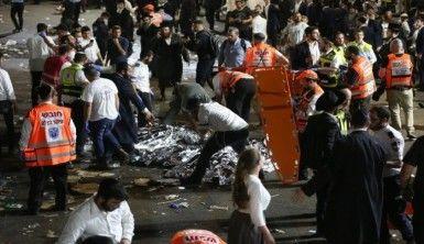 İsrail'de Lag B'Omer Bayramı kutlamalarında izdiham, 44 ölü