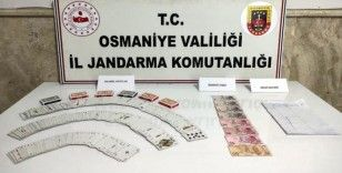 Osmaniye'de kumar oynayan 11 kişiye 38 bin lira ceza