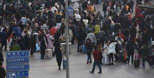 Çin'de 5 günlük İşçi Bayramı tatilinin ilk gününde 18,3 milyon tren yolculuğu yapılması bekleniyor