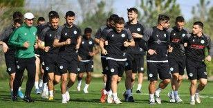 Konyaspor'da Fatih Karagümrük maçı hazırlıkları devam ediyor
