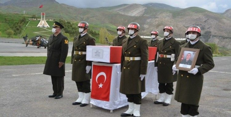 Hakkari'de Şehit Ahmet Asan için tören düzenlendi