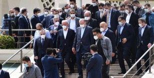 Cumhurbaşkanı Erdoğan Ümraniye Belediye Başkanı Yıldırım'ın babasının cenazesine katıldı