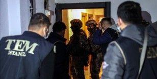 İstanbul'da terör örgütü DEAŞ operasyonunda 16 şüpheli yakalandı