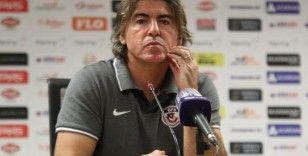 Ricardo Sa Pinto: 'Her şeyi yaptık ama golü bulamadık'