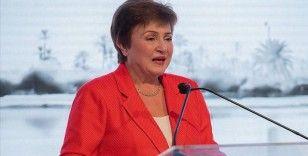 IMF Başkanı Georgieva bu yıl kurumlar vergisi konusunda küresel bir anlaşma için iyimser olduklarını söyledi
