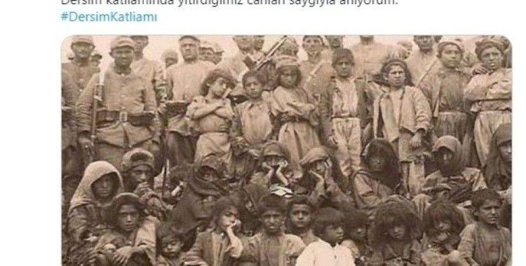 CHP Bursa Milletvekili Orhan Sarıbal'ın Dersim paylaşımı tepki çekti
