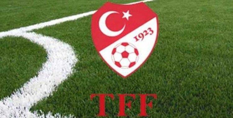 TFF'den Türker Arslan mesajı