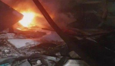 İsrail Lazkiye'yi vurdu, 1 ölü, 6 yaralı