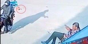 Mersin'deki silahlı saldırı kamerada