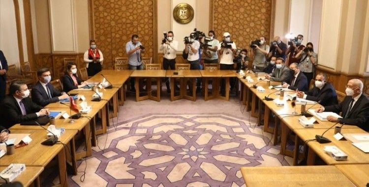 Mısır Dışişleri Bakanlığı: Türk heyeti ile Mısır tarafı arasındaki görüşmeler başladı