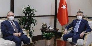 Cumhurbaşkanı Yardımcısı Oktay, Türkiye Maarif Vakfı Başkanı Akgün'ü kabul etti