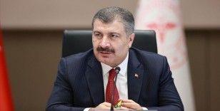 Sağlık Bakanı Koca: Vaka sayılarında önemli derece düşüş yaşadık