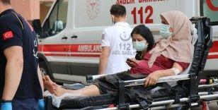 Ağabey-kardeş kavgasında yenge vuruldu