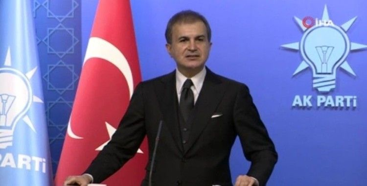 """AK Parti Sözcüsü Çelik: """"İsrail, yine Ramazan'da işgale hız veriyor"""""""