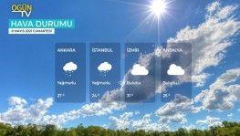 Yarın kara ve denizlerimizde hava nasıl olacak? 8 Mayıs 2021 Cumartesi
