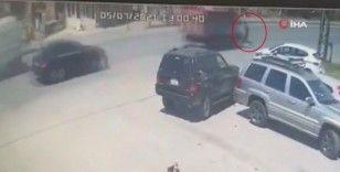 Başakşehir'de feci kaza: Dikkatsizliği hayatına mal oluyordu