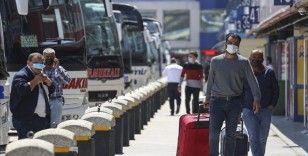 Tam kapanmada, İstanbul'da şehirler arası otobüs seferleri 1250'den 150'ye düştü