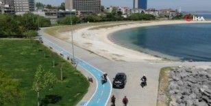 İstanbul'da sahiller sessiz kaldı