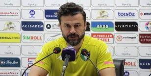 """Tandoğan: """"Ligin en iyi hücum hattına sahip takıma karşı oynadık"""""""