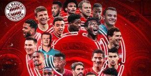 Almanya'da Bayern Münih şampiyonluğunu garantiledi