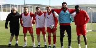 Sivasspor, ara vermeden Fenerbahçe maçı hazırlıklarına başladı
