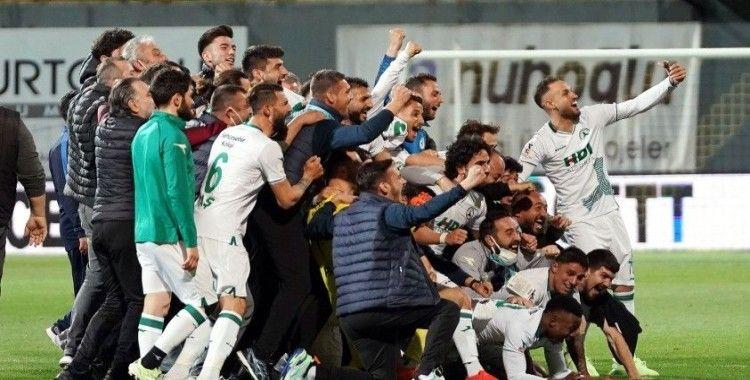 GZT Giresunspor, 44 yıl sonra Süper Lig'e yükseldi