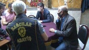 Bağcılar'da kumar baskını, Polisten kaçmak için kömürlüğe saklandı