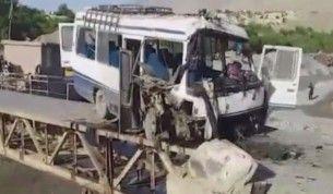 Afganistan'da yolcu otobüsüne bombalı saldırı