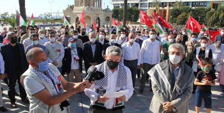 İzmirli STK'lardan İsrail'e tepki