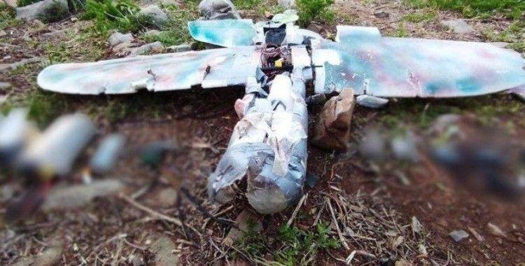 Mehmetçiğin dikkati sayesinde, teröristlerin saldırı için kullandığı maket uçak düşürüldü