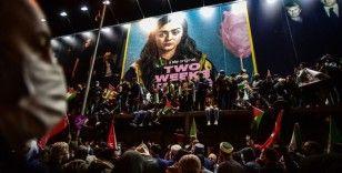 İstanbul'da İsrail Konsolosluğu önünde Mescid-i Aksa eylemi