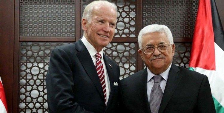 ABD Başkanı Biden 'bölgedeki son gelişmeler' ile ilgili Filistin lideri Abbas'a yazılı mesaj gönderdi