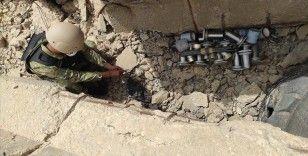 Libya'da tuzaklanan mayın, EYP ve mühimmat temizliği sürüyor