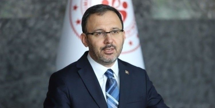 Bakan Kasapoğlu: '19 Mayıs'ta evlerimizden İstiklal Marşımızı okuyacağız'