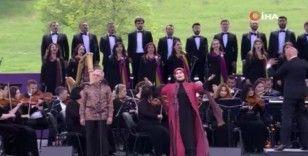 Karabağ'ın incisi Şuşa'da düzenlenen Harıbülbül Müzik Festivali sona erdi