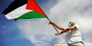 Tunus'tan Filistin'e destek
