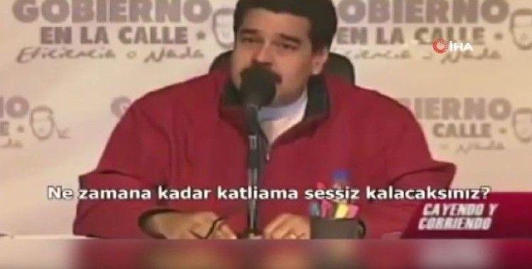 Maduro'dan Filistin'e destek