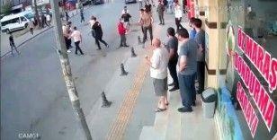 Pendik'te drift yapan magandalar ile vatandaşlar arasında kavga