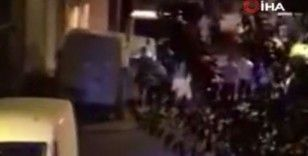 Zeytinburnu'nda şampiyonluk kutlamasında kavga çıktı