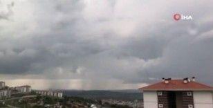İstanbul'da yağmur yağışı başladı